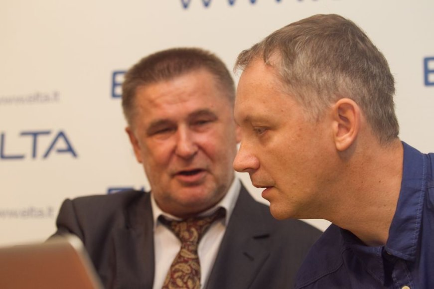 Valdas Vasiliauskas ir Audrius Nakas