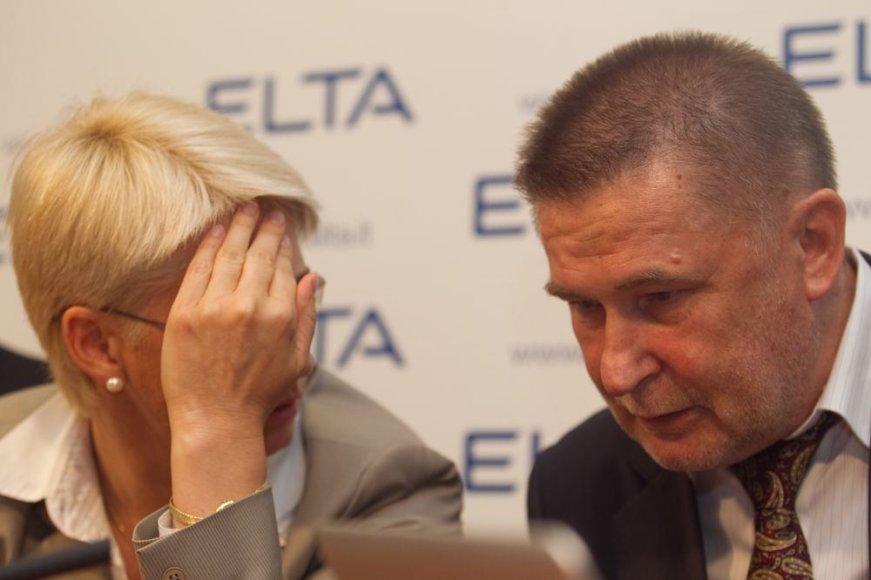 Neringa Venckienė ir Valdas Vasiliauskas
