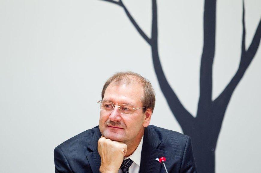 Vytautas Gapšys ir Viktoras Uspaskichas