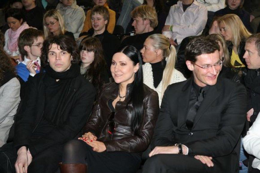 Juozas Statkevičius, Anželika Cholina ir Modestas Pitrėnas