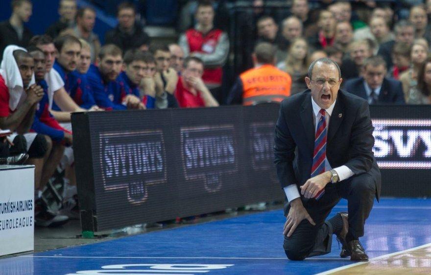 Maskvos CSKA treneris Ettore Messina