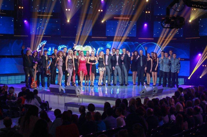"""""""Eurovizijos"""" atrankos laida"""
