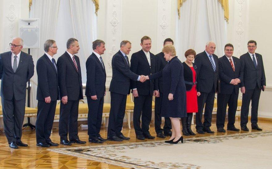 Prezidentės susitikimas su Vyriausybės nariais
