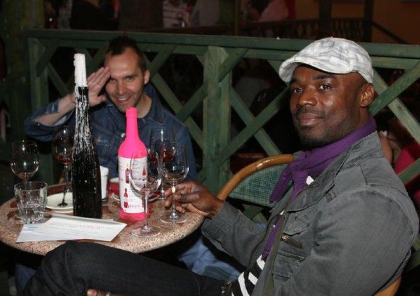 Rausvojo vyno degustacija