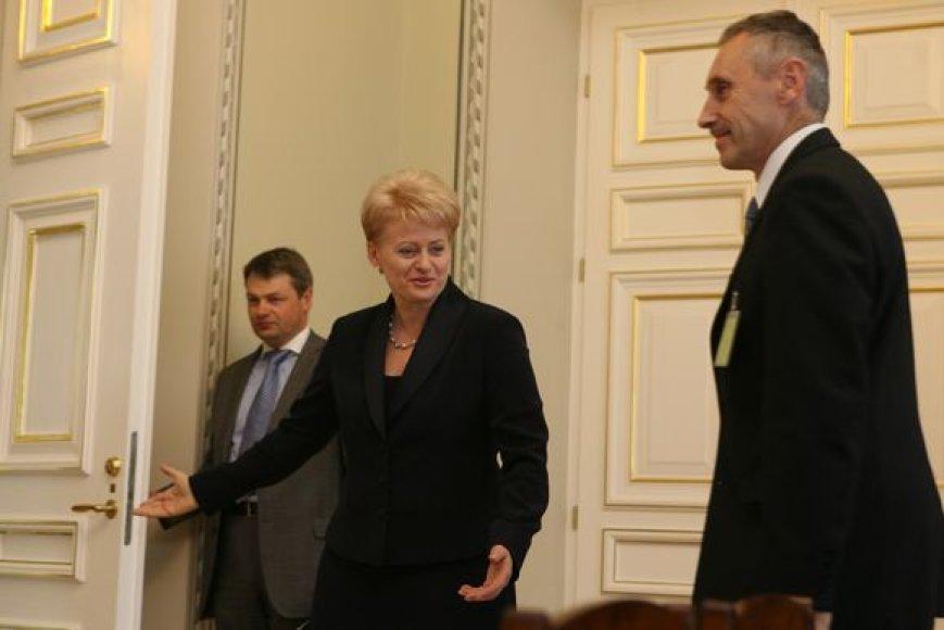 Dalia Grybauskaitė ir Arvydas Sekmokas