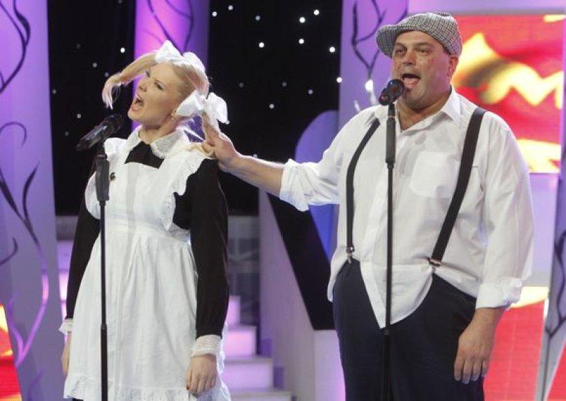 Natalija Zvonkė ir Vitalijus Cololo