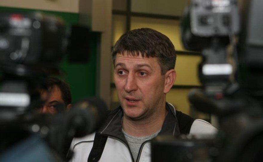 """Kauno """"Žalgirio"""" treneris D.Maskoliūnas"""