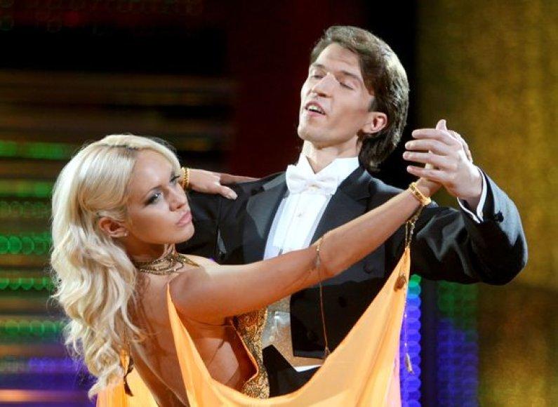 Oksana Pikul su partneriu