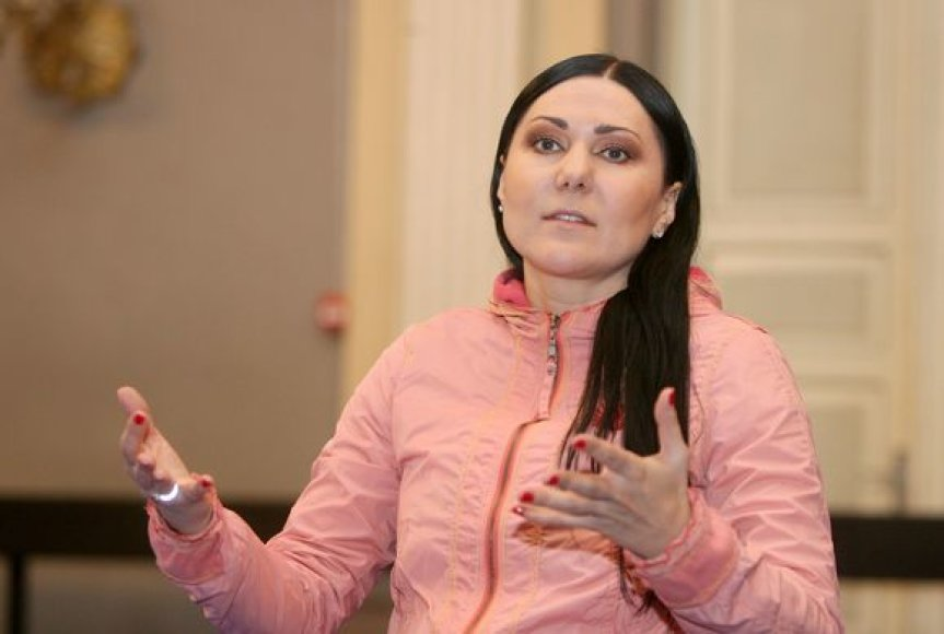 Choreografė Anželika Cholina