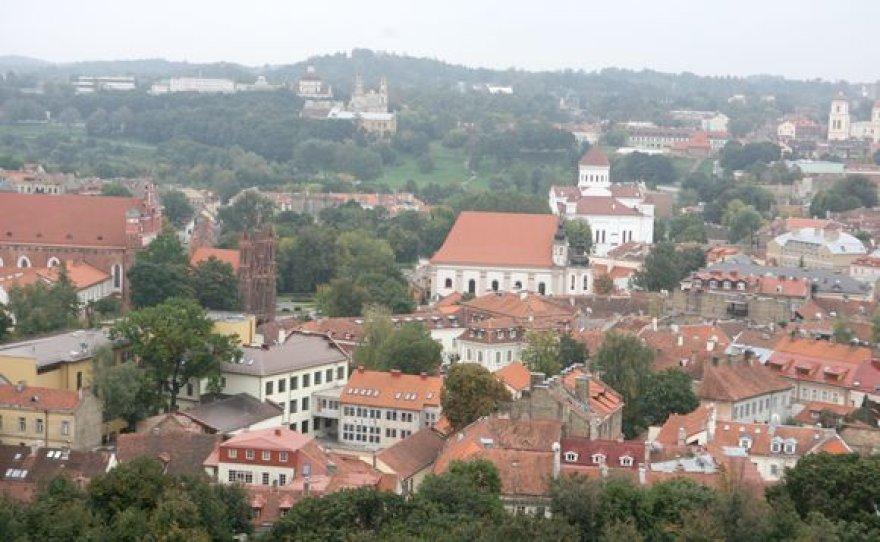 Vaizdas iš Gedimino pilies