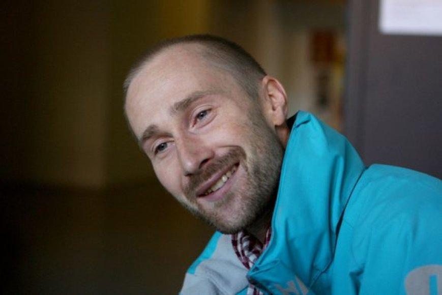 """Estų teatro """"NO99"""" įkūrėjas ir meno vadovas Tiit Ojasoo"""