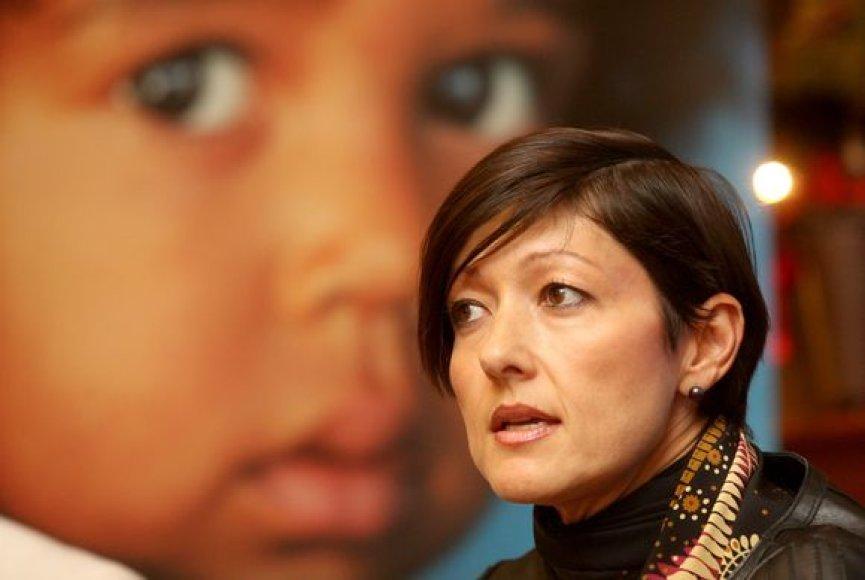 """""""UNICEF Danija"""" globėja Aleksandra Kristina"""