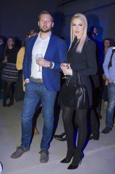 Irmanto Gelūno / 15min nuotr./Kristina Ivanova su naujuoju draugu Justinu
