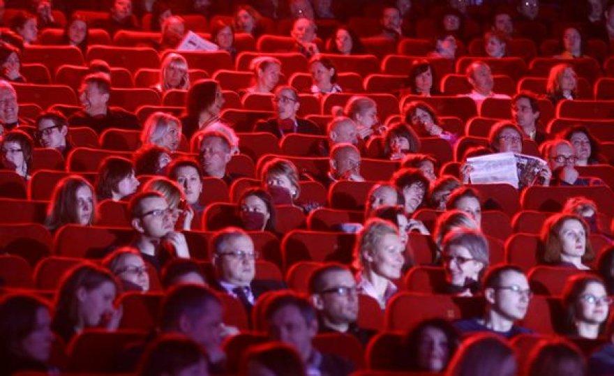 """Festivalio """"Kino pavasaris"""" uždarymo akimirka"""