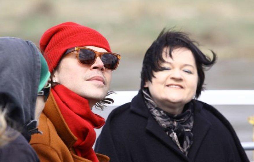 Juozas Statkevičius ir Dalia Ibelhauptaitė