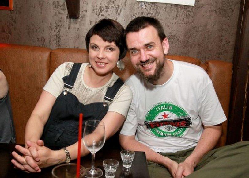 Julija Ritčik ir Laimonas Staniulis