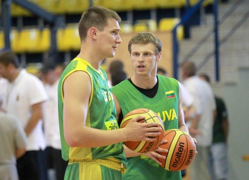 Paulius Jankūnas ir Martynas Pocius