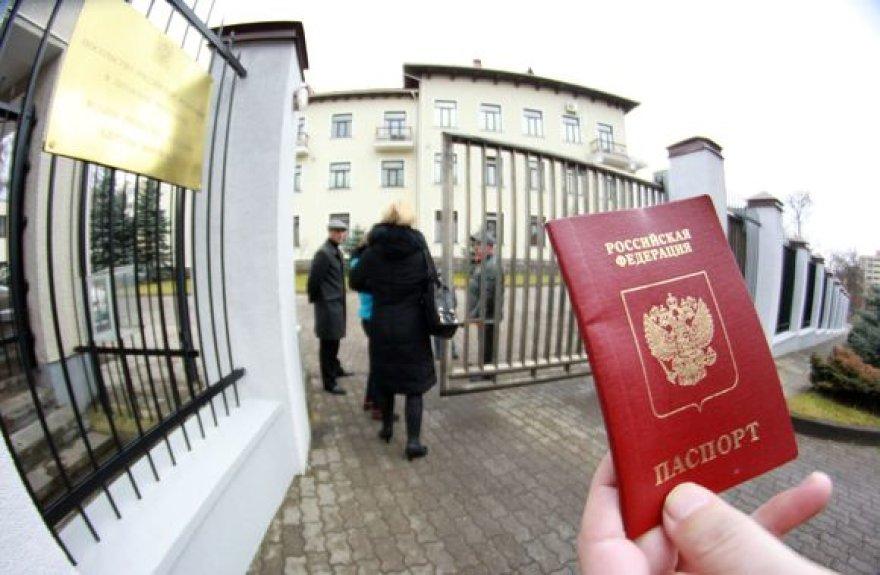 Vilniuje balsavimas vyksta Rusijos ambasadoje