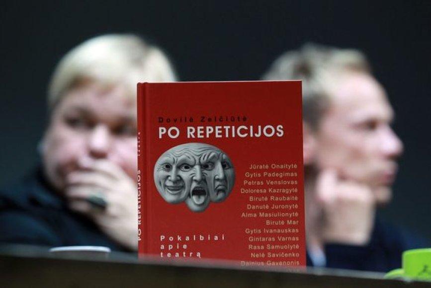 """Knygos """"Po repeticijos"""" pristatymas"""