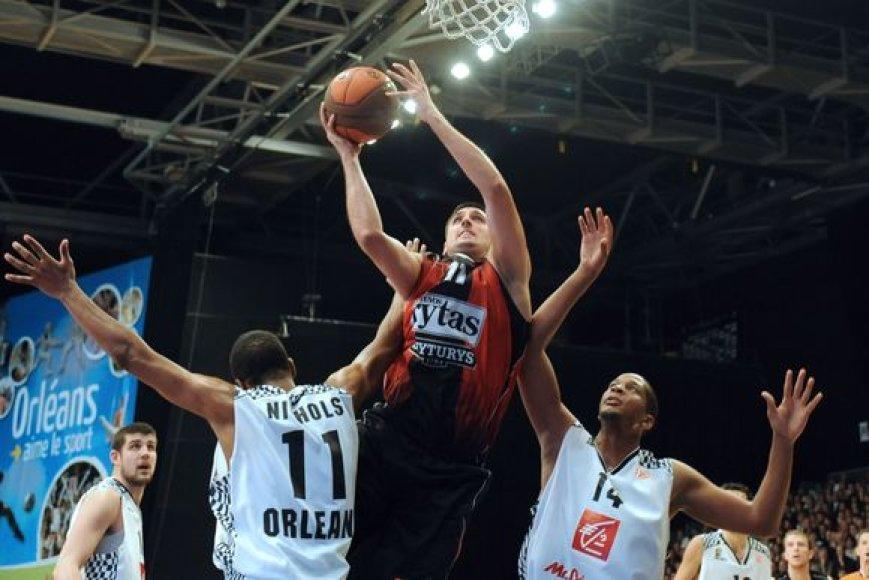 Vilniaus komanda nesunkiai laimėjo kovą dėl atšokusių kamuolių