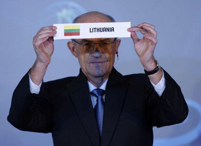 Lietuvos rinktinė pateko į D grupę ir žais Izmire