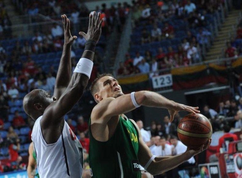 Lietuvos rinktinė pusfinalyje kovoja su amerikiečiais