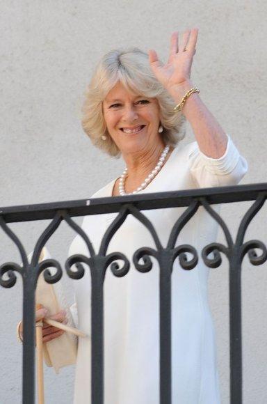 Kornvalio hercogienė ir princo Charleso žmona Camilla