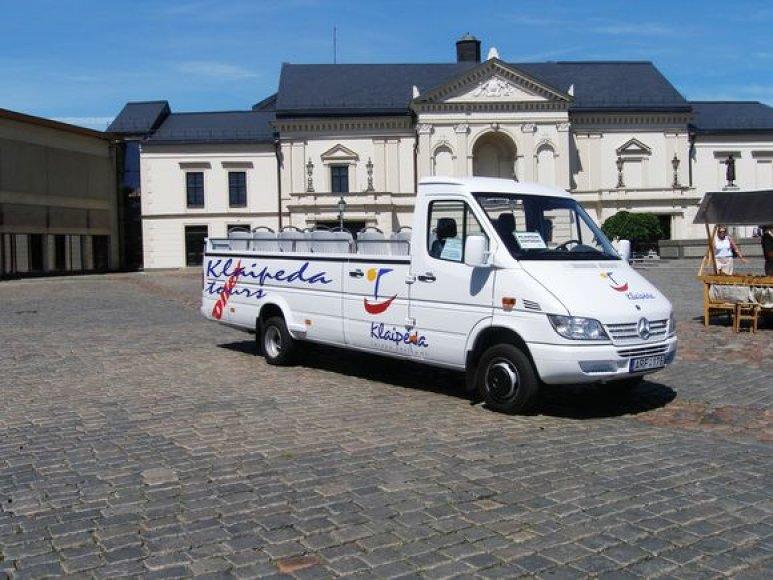 Klaipėdoje autobusėlis dirbo nuo 2006 m. birželio 30 dienos.