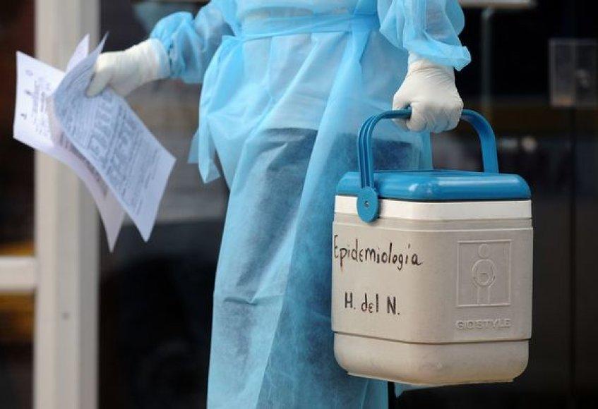 Mokslininkai nerimauja, kad virusas gali tapti pavojingesnis