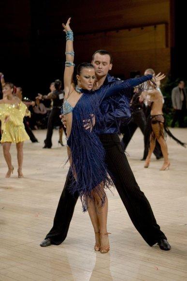 Paplūdimyje pasirodys ir profesionalūs, Honkonge gyvenantys šokėjai Inesa ir Aidas Kasperaičiai.