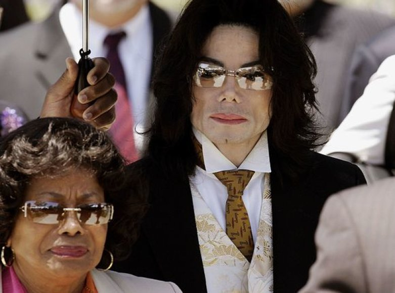 Katherine Jackson su sūnumi Michaelu Jacksonu