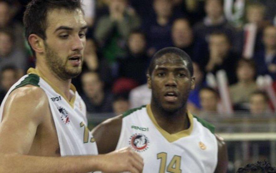 M.Begičius (kairėje)