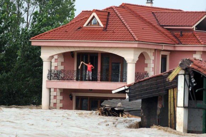 Potvynis Turkijoje