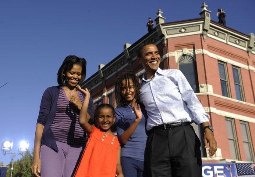 Obamų šeima