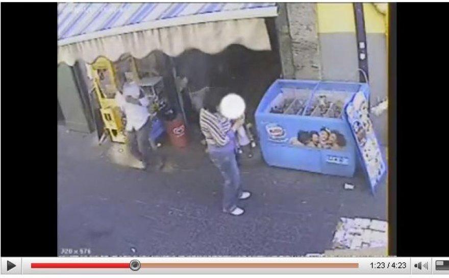 Italijos policija išplatino mafijos boso nužudymo video