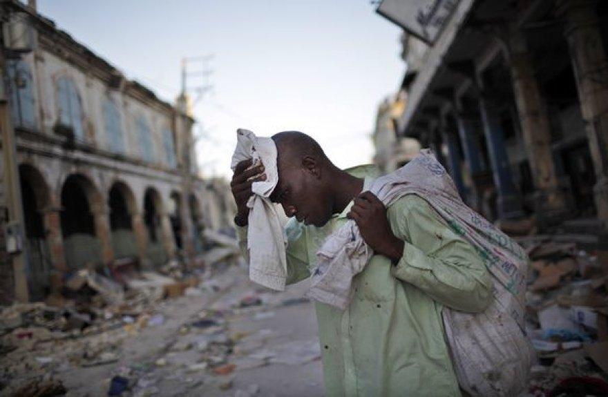 Žmogus Haičio gatvėje