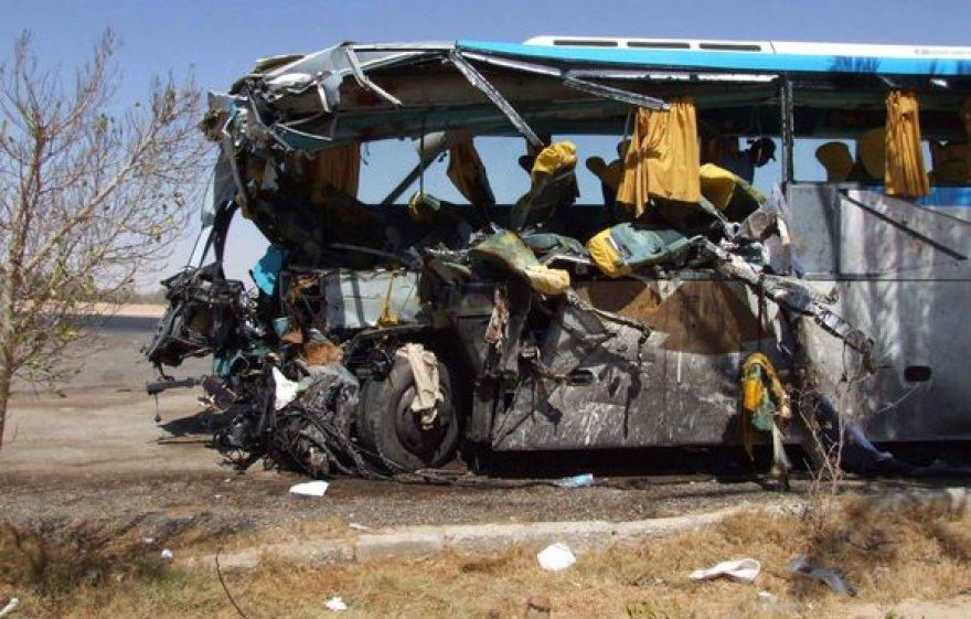 Egipte turistų autobusai į avarijas dažniausiai pakliūna, nes nesilaikoma saugaus greičio.