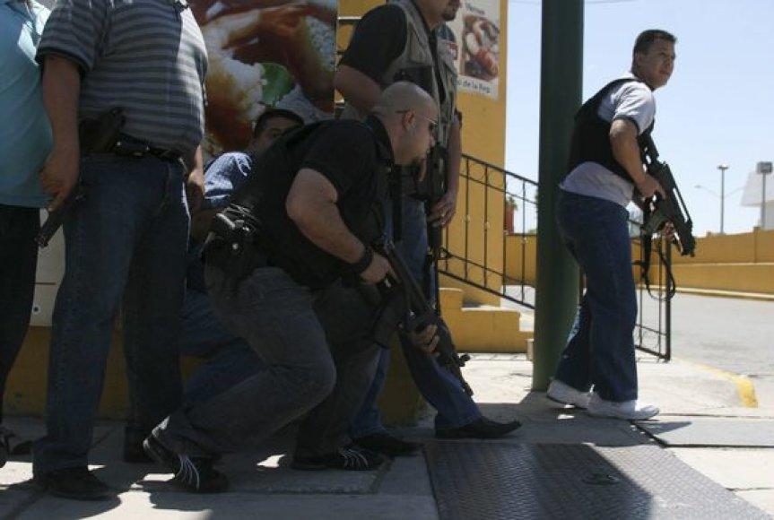 Smurta Meksikos pasienyje – kasdienybė