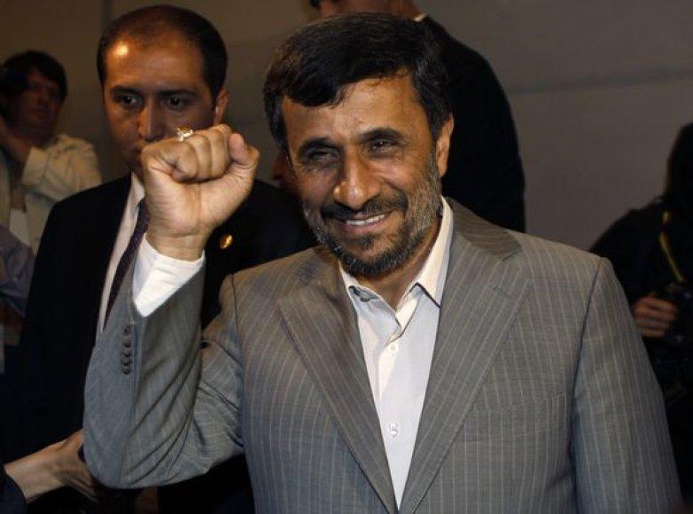 M.Ahmadinejadas