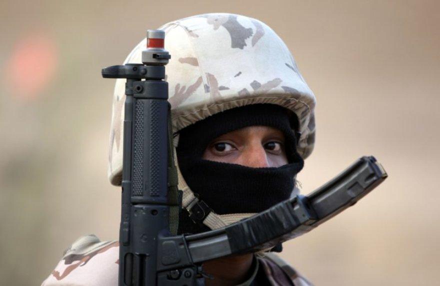 Saudo Arabijos pajėgų karys