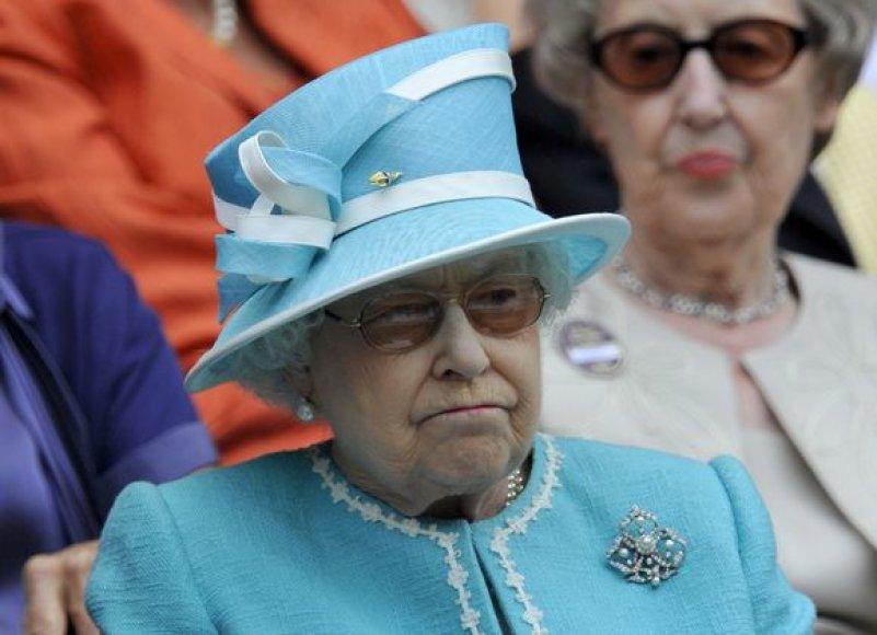 Elizabeth II Vimbldono turnyre