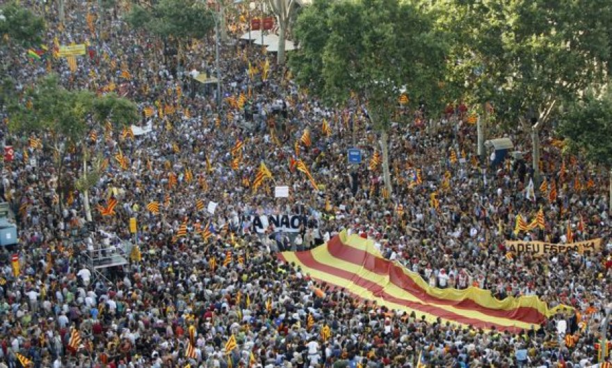 Reikalavimas nepriklausomybės Katalonija