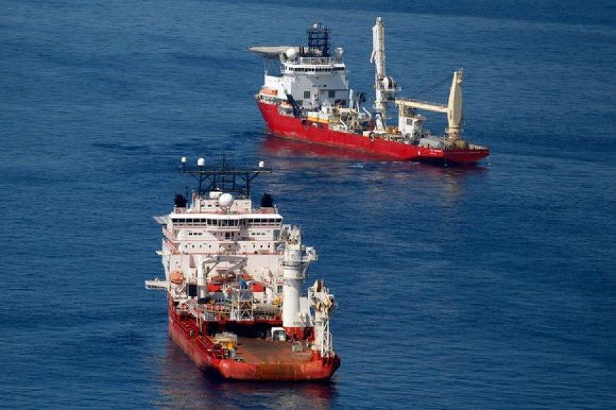 Laivai Meksikos įlankoje