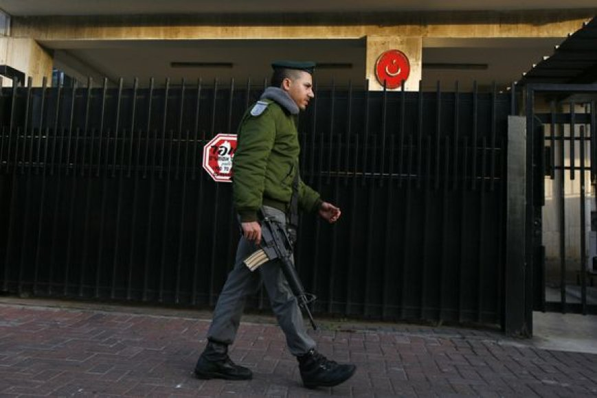 Pareigūnas prie Turkijos ambasados