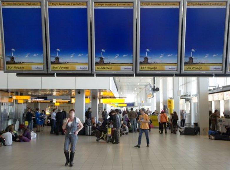 Schipholo oro uostas