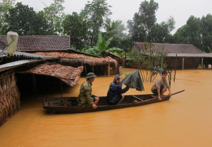 Potvynis Vietname