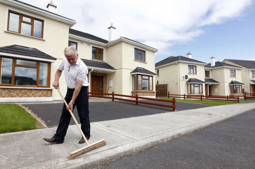Tušti namai Airijoje