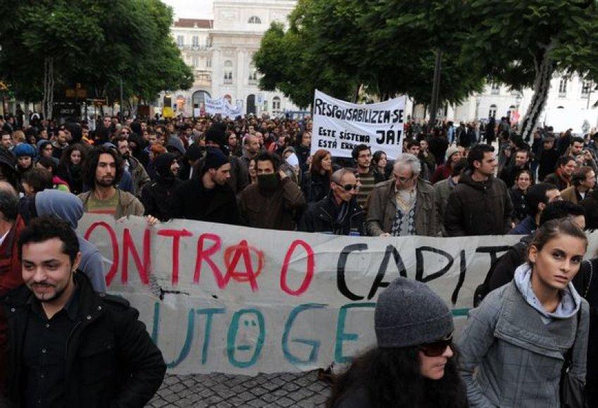 Protestas Portugalijoje