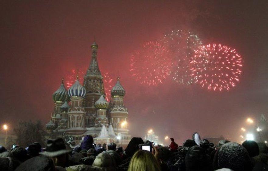 Naujieji metai Maskvoje