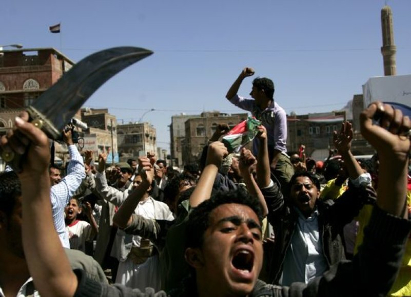Protestai Jemene